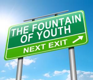 fountain of youth sign